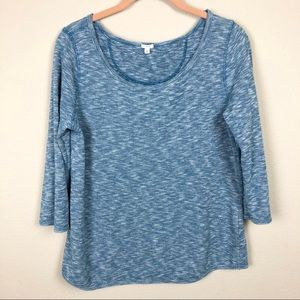 J Crew Lightweight Scoop Neck Sweater M